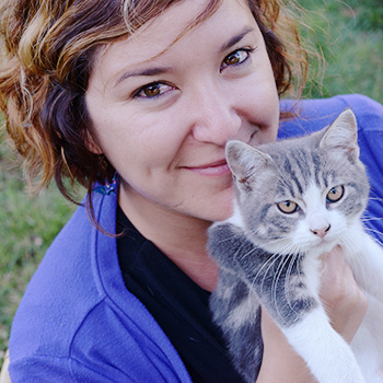 Julie, fondatrice de Happy Cats, pet-sitter sur Rennes